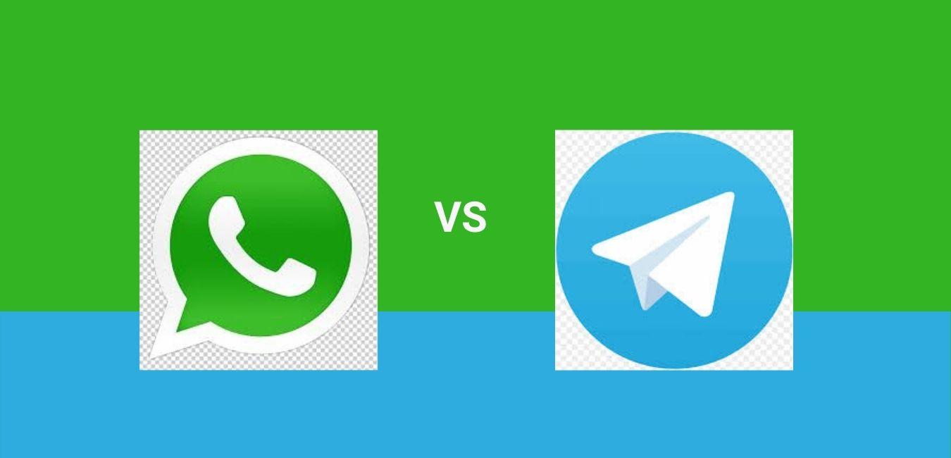 whatsapp vs Telegram image