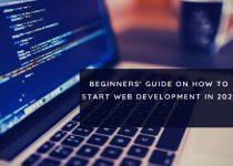 how to start web development 2021
