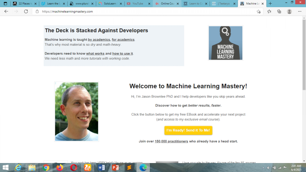 how to learn coding for free online- machinelearningmastery