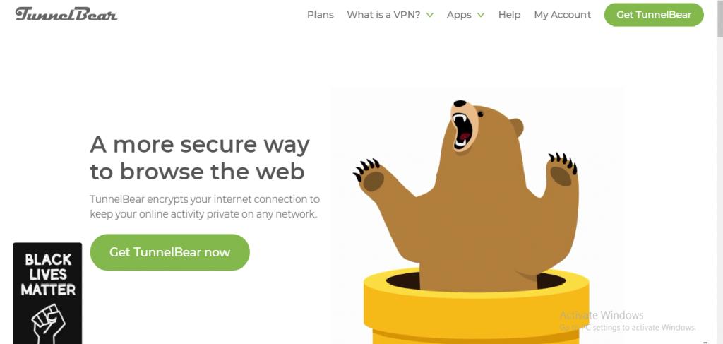 TunnelBear - free vpn