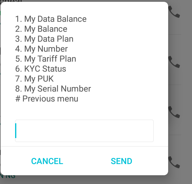 check airtel number