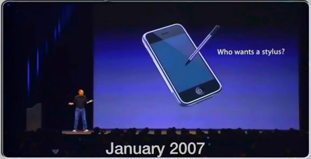 Apple iPhone - invention