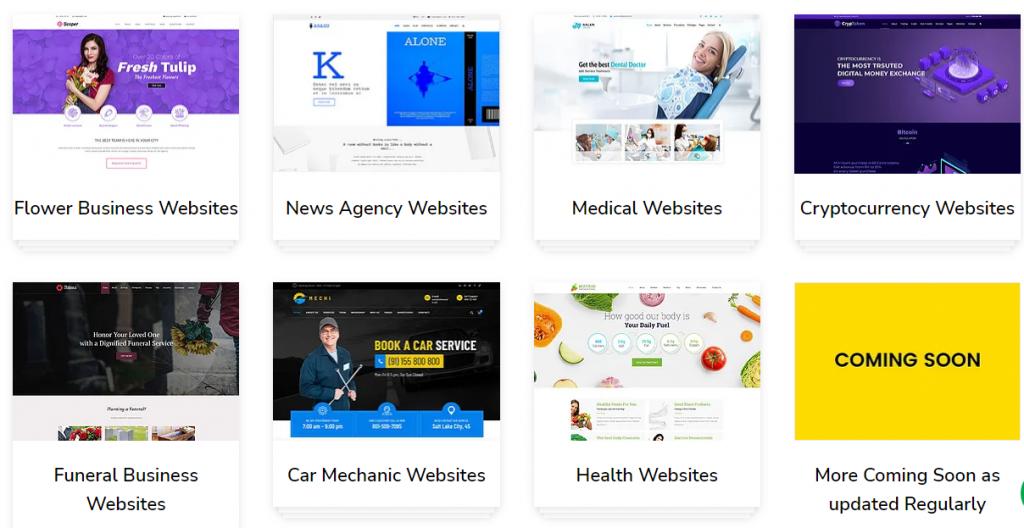 WordPress theme bundle
